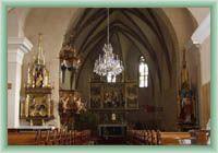 Hrabušice - Interieur der Kirche