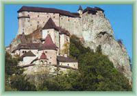 Burg Oravský hrad